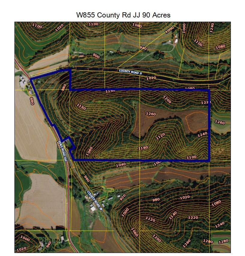 View Vacant Land For Sale at W855 COUNTY ROAD JJ, BANGOR, WI