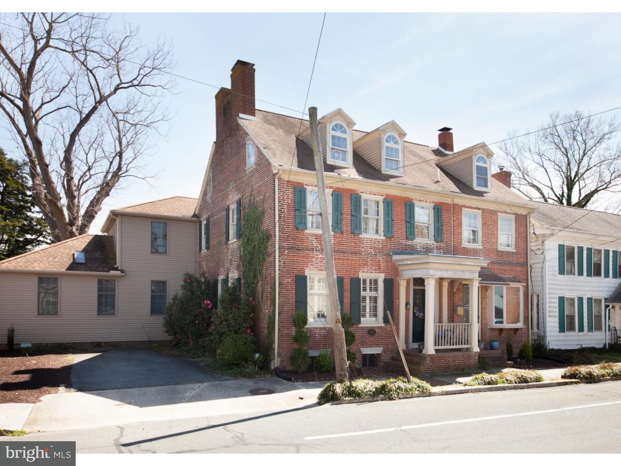 Maison unifamiliale pour l Vente à 7 & 9 S MAIN Street Camden, Delaware 19934 États-Unis