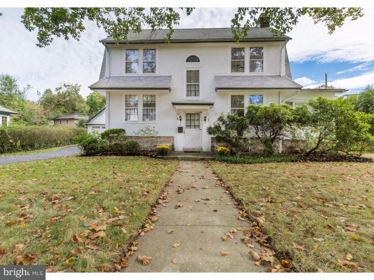 Single Family Home for Sale at 223 VALLEY Road Merion Station, Pennsylvania 19066 United States