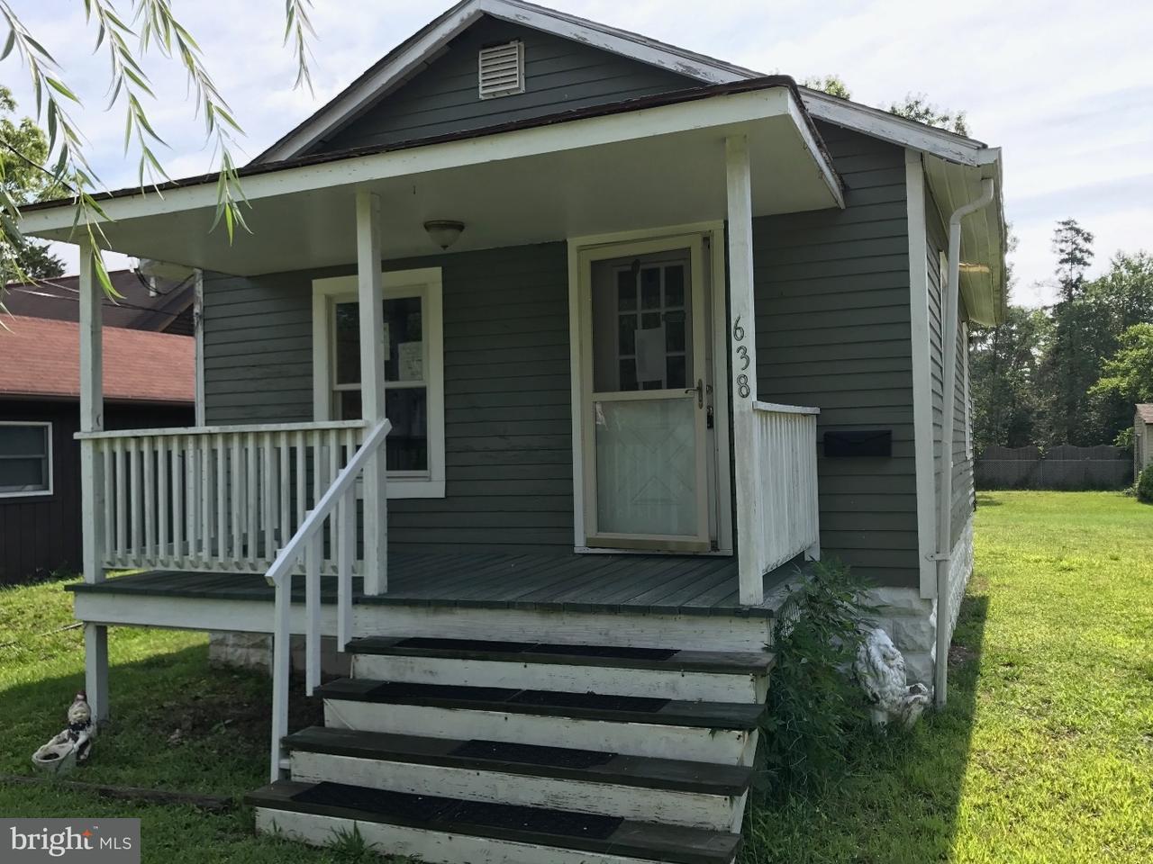 Частный односемейный дом для того Продажа на 638 8TH Street Absecon, Нью-Джерси 08201 Соединенные Штаты
