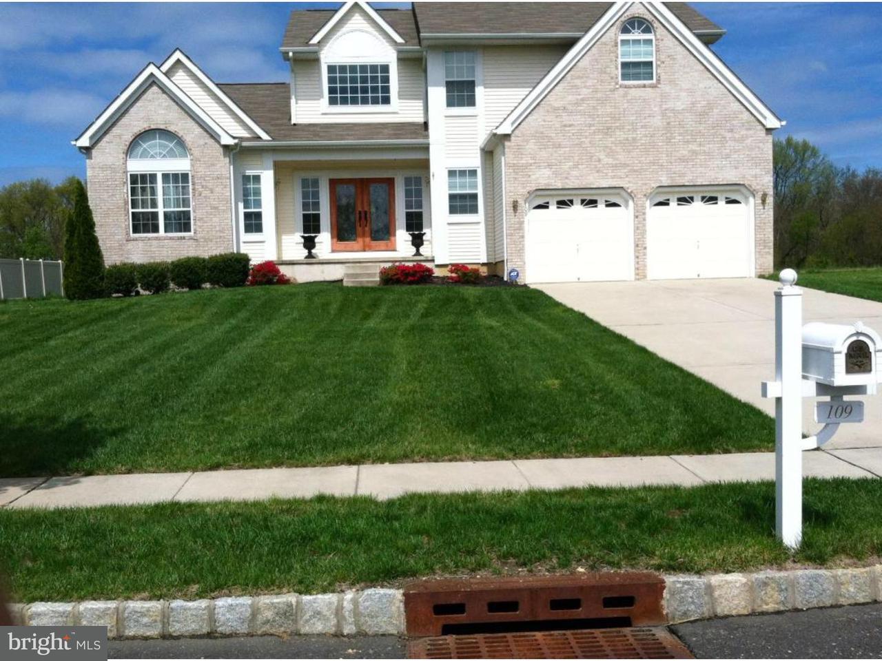 独户住宅 为 出租 在 109 ROSE Court Winslow, 新泽西州 08081 美国
