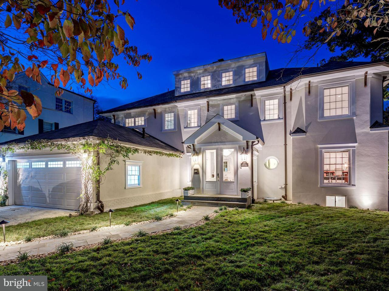 Single Family for Sale at 37 Quincy St Chevy Chase, Maryland 20815 United States
