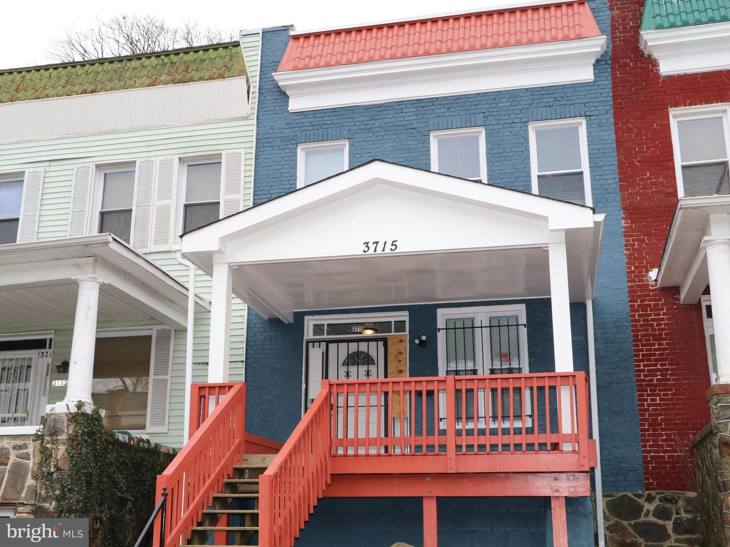 Single Family for Sale at 3715 Garrison Ave Baltimore, Maryland 21215 United States