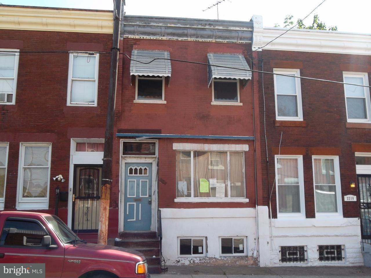 дуплекс для того Продажа на 2221 N 10TH Street Philadelphia, Пенсильвания 19133 Соединенные Штаты