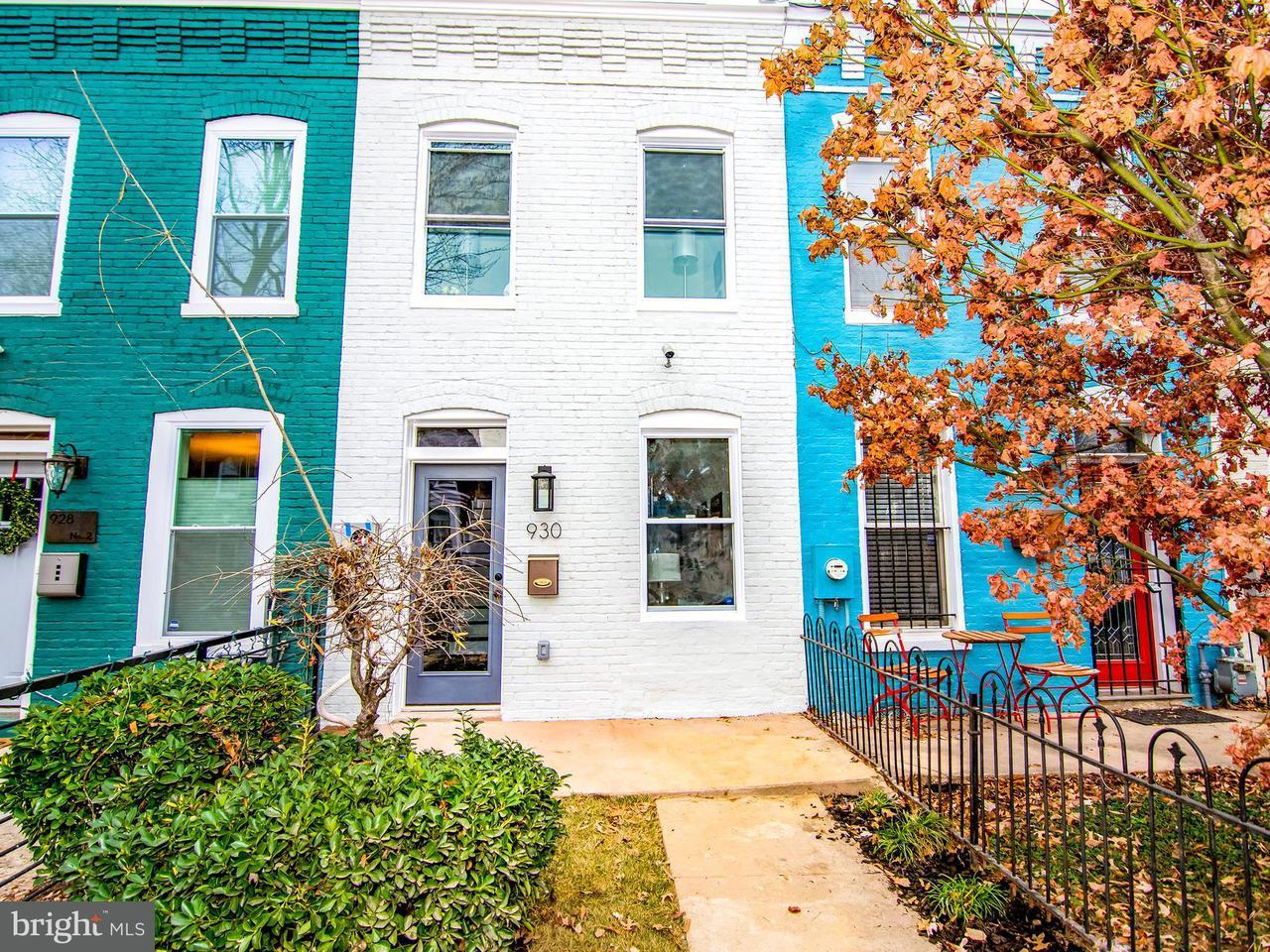 联栋屋 为 销售 在 930 9TH ST NE 930 9TH ST NE 华盛顿市, 哥伦比亚特区 20002 美国