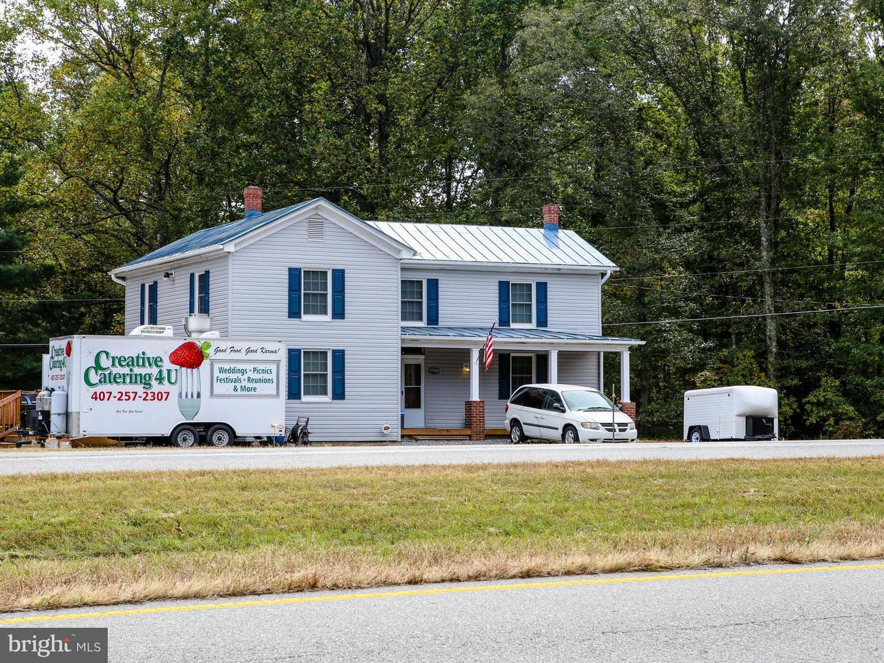 Commercial for Sale at 17518 A P Hill Blvd Bowling Green, Virginia 22427 United States