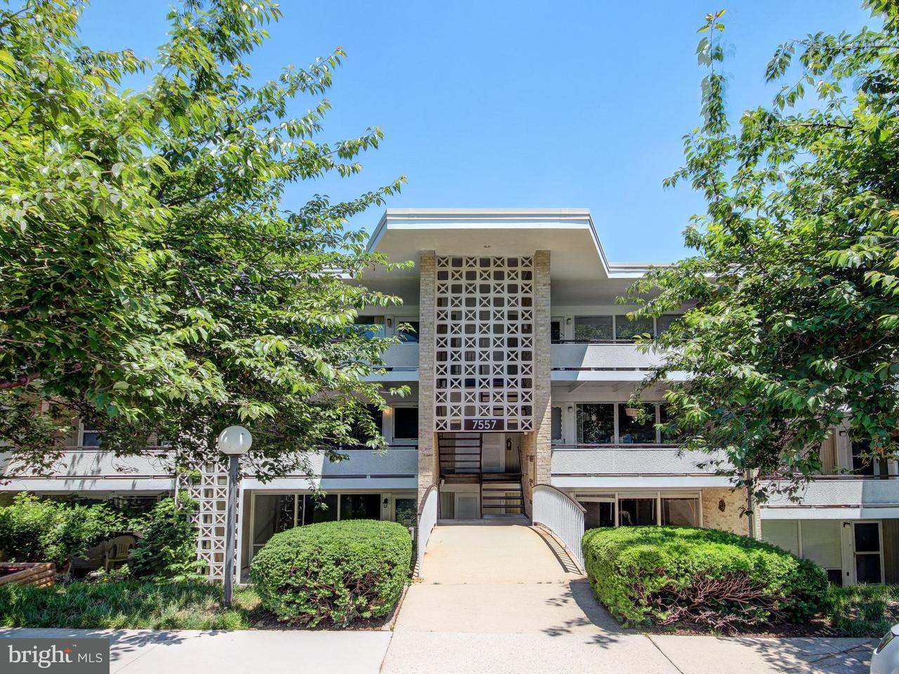 Condominium for Sale at 7557 Spring Lake Dr #b-2 Bethesda, Maryland 20817 United States