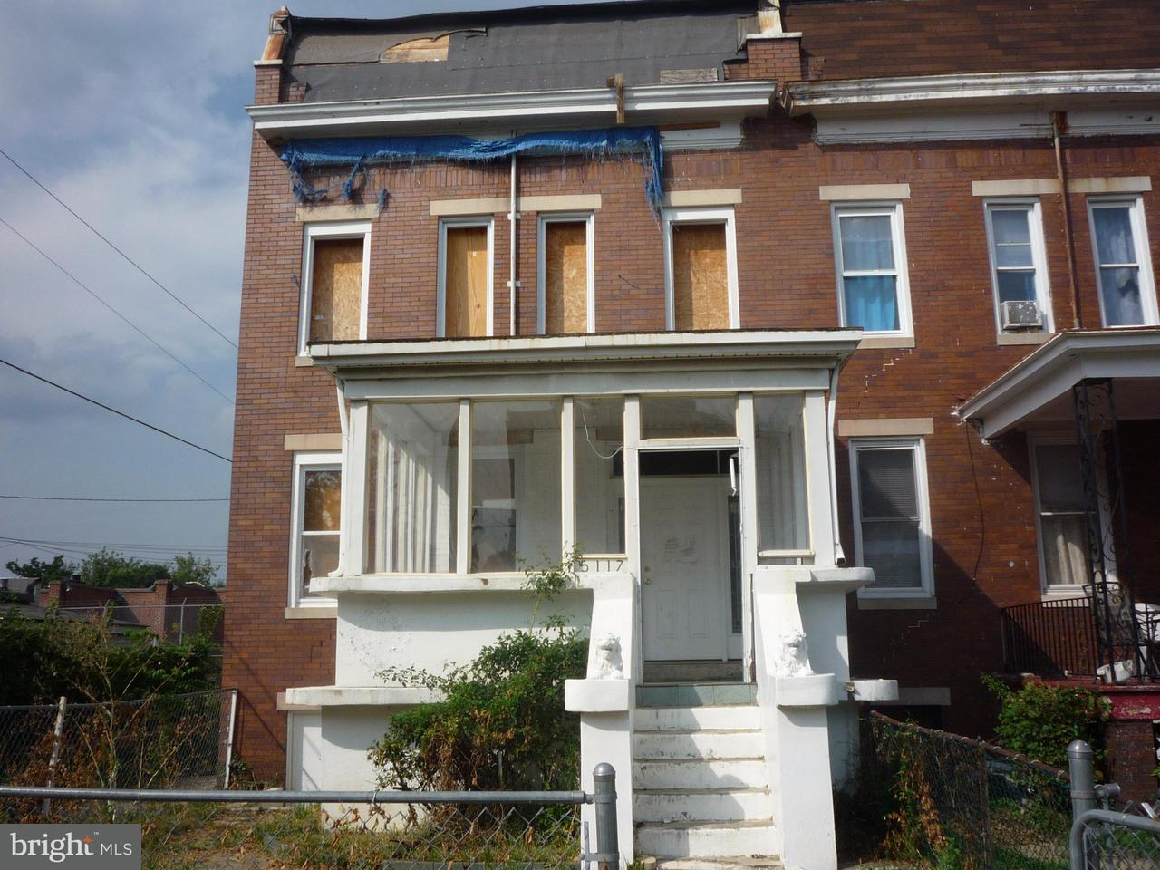 Single Family for Sale at 5117 Cordelia Ave Baltimore, Maryland 21215 United States