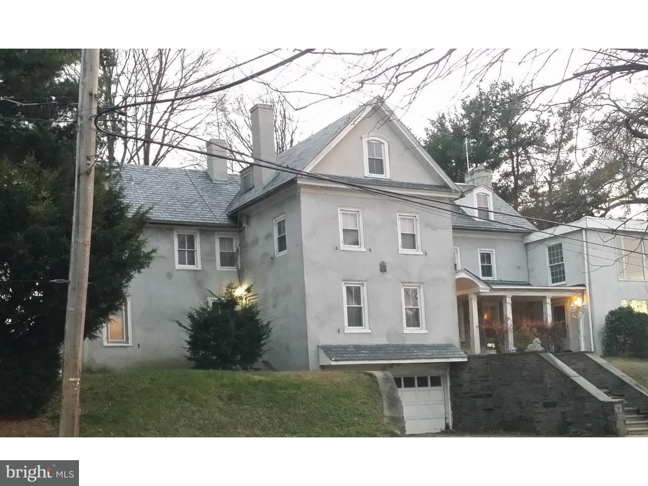 Частный односемейный дом для того Продажа на 318 WASHINGTON Lane Jenkintown, Пенсильвания 19046 Соединенные Штаты