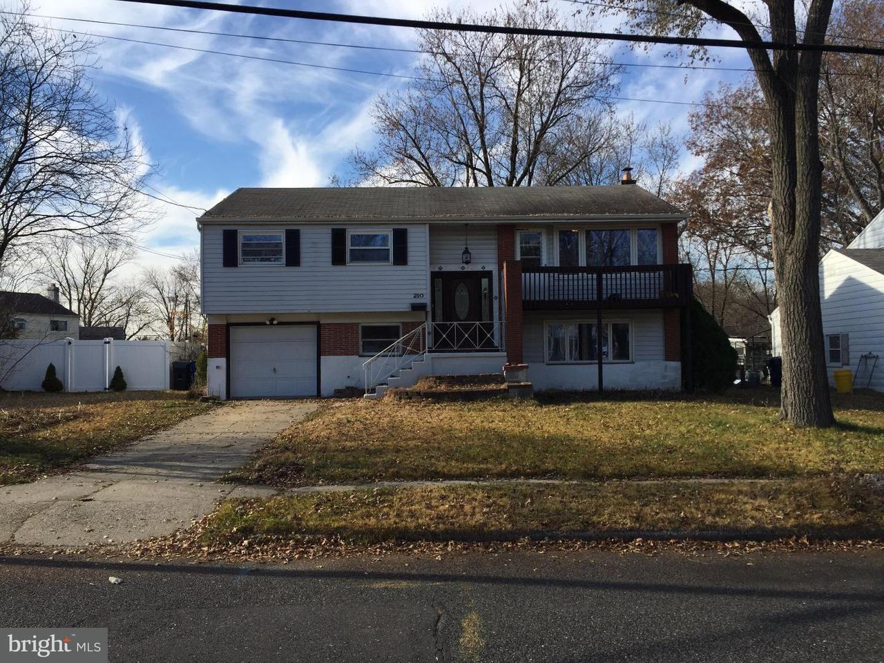 Single Family Home for Rent at 210 GREEN RIDGE Road Voorhees, New Jersey 08043 United States