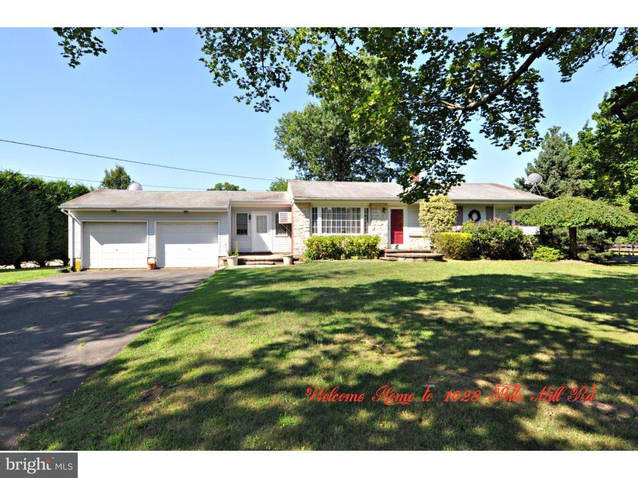 独户住宅 为 销售 在 1028 POTTS MILL Road 波登镇, 新泽西州 08505 美国