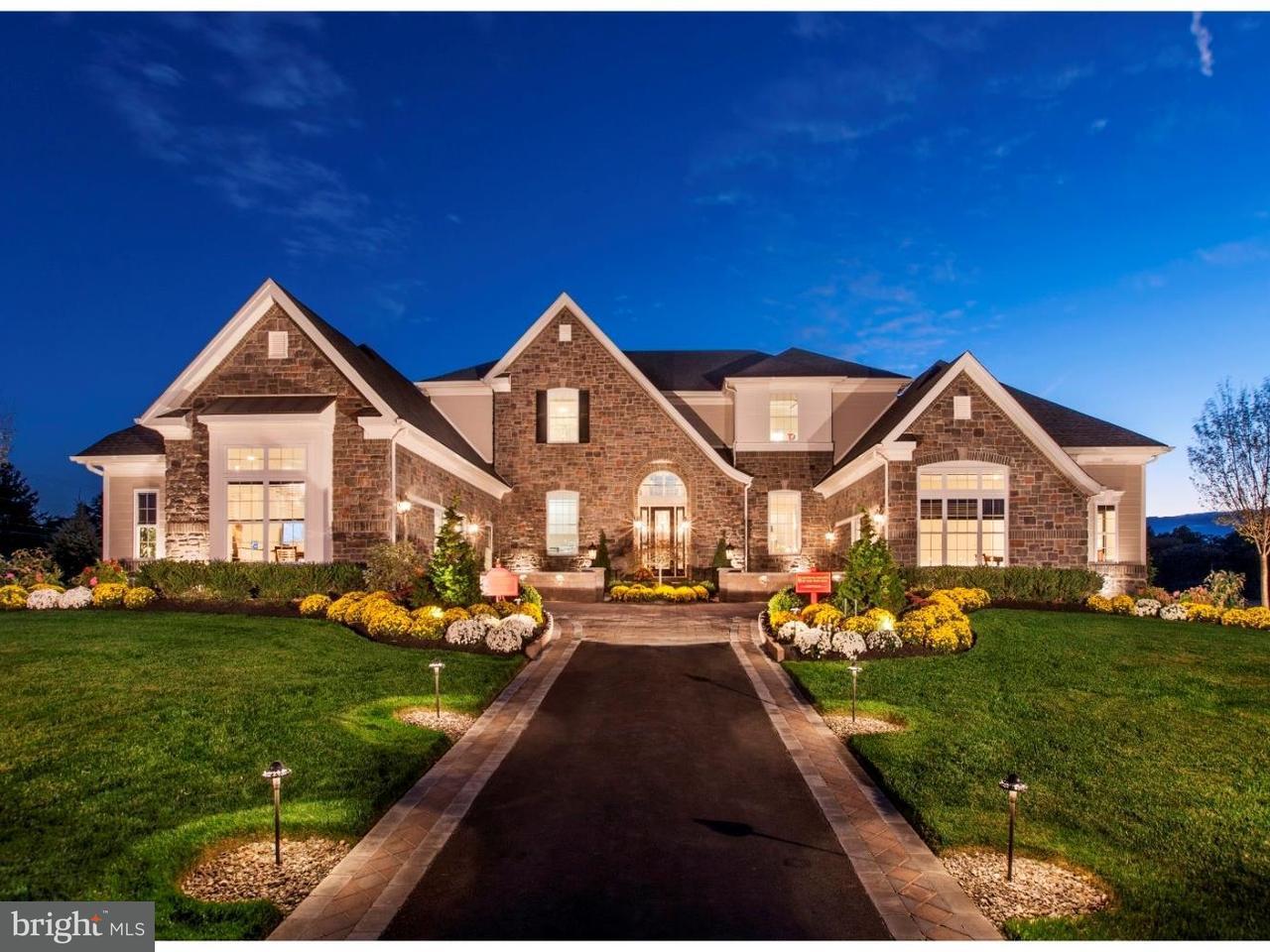 Частный односемейный дом для того Продажа на 4 OXFORD Drive Ivyland, Пенсильвания 18974 Соединенные Штаты