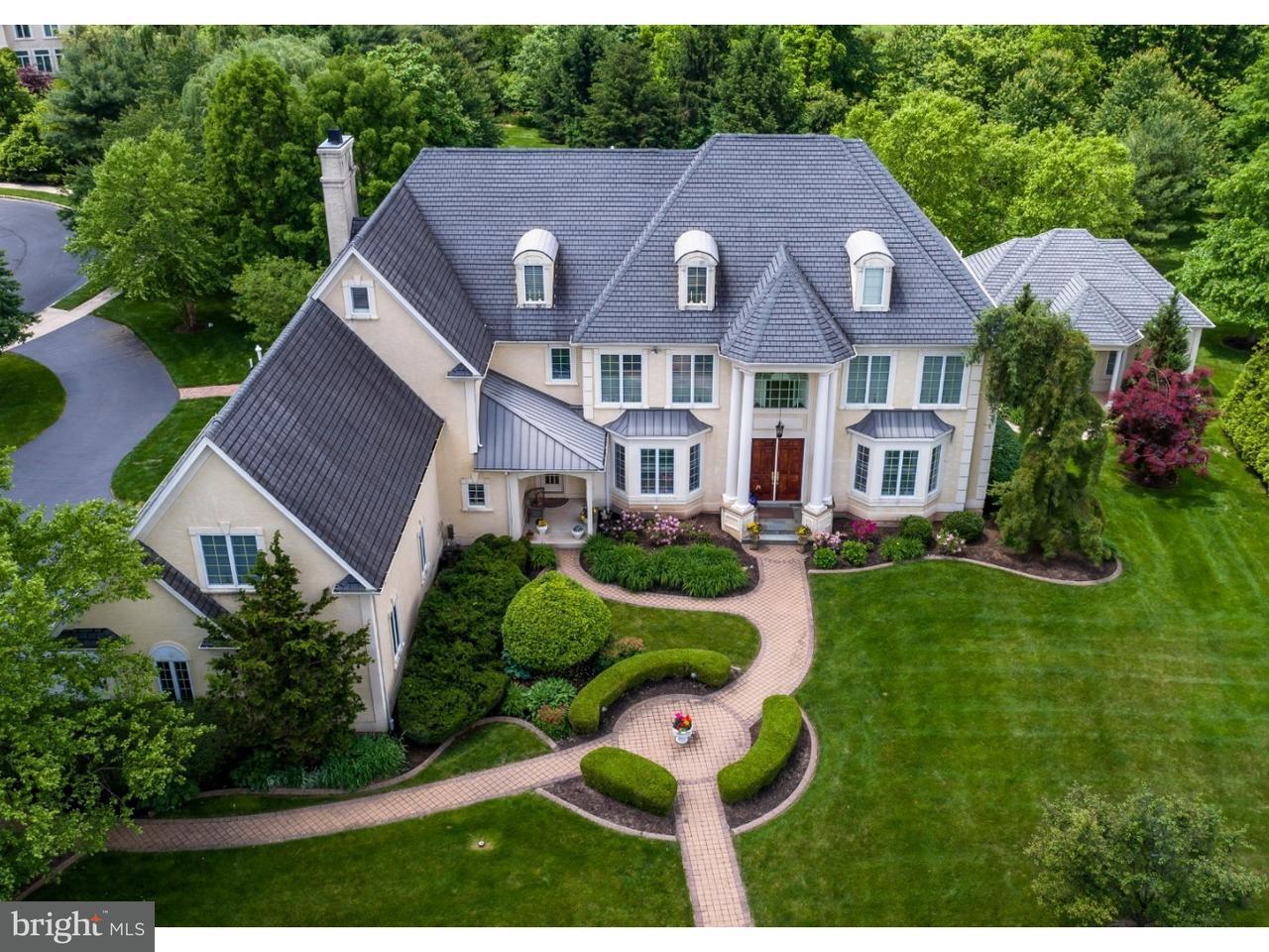 Maison unifamiliale pour l Vente à 710 DAVENTRY WAY Ambler, Pennsylvanie 19002 États-Unis