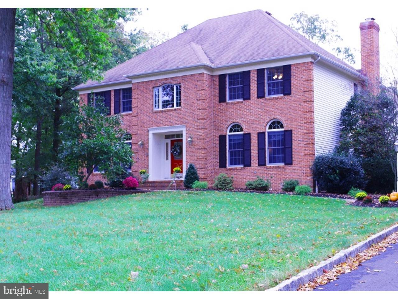 Enfamiljshus för Försäljning vid 137 BELLE GLADES Lane Belle Mead, New Jersey 08502 UsaI/Runt: Montgomery Township