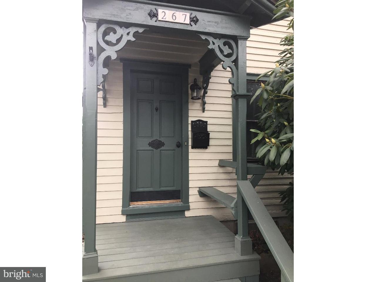 Casa unifamiliar adosada (Townhouse) por un Alquiler en 267 LAKE Street Haddonfield, Nueva Jersey 08033 Estados Unidos