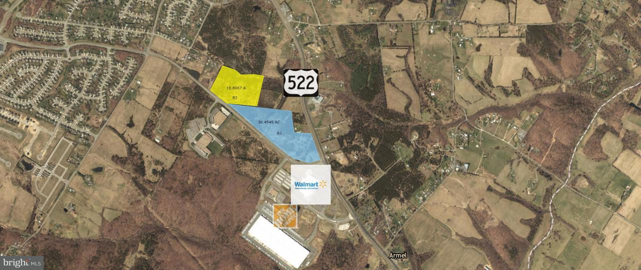 Land for Sale at 1 Front Royal Pike 1 Front Royal Pike Winchester, Virginia 22602 United States