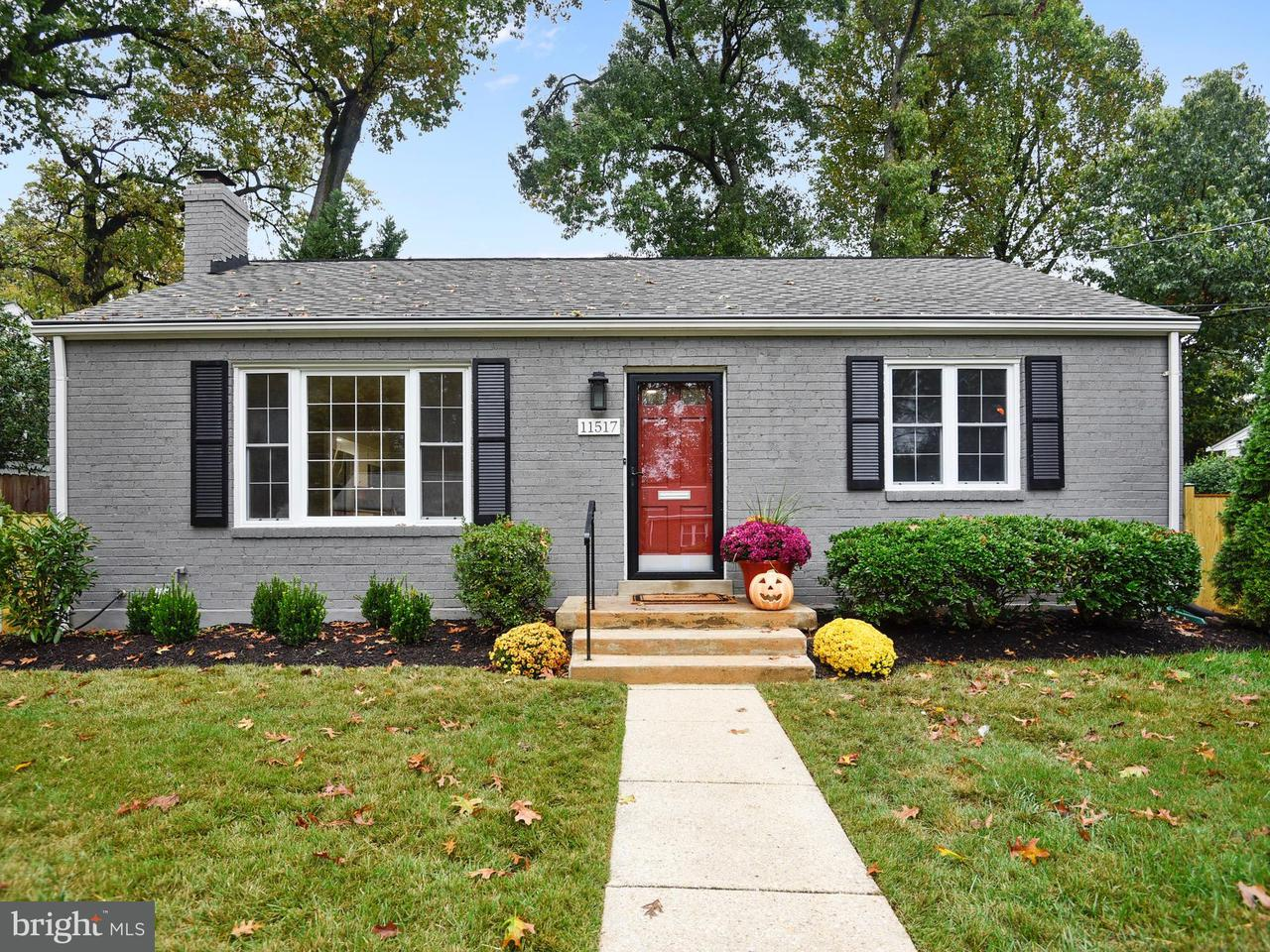 Single Family Home for Sale at 11517 SOWARD Drive 11517 SOWARD Drive Silver Spring, Maryland 20902 United States