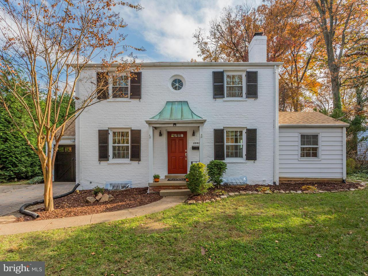 Single Family Home for Sale at 6805 HAYCOCK Road 6805 HAYCOCK Road Falls Church, Virginia 22043 United States