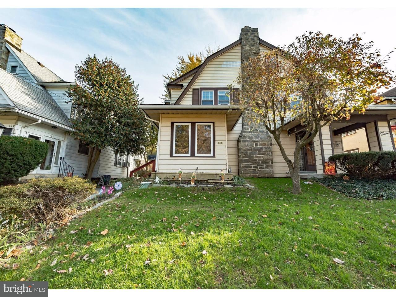 联栋屋 为 销售 在 118 BIRCHWOOD Road Aldan, 宾夕法尼亚州 19018 美国