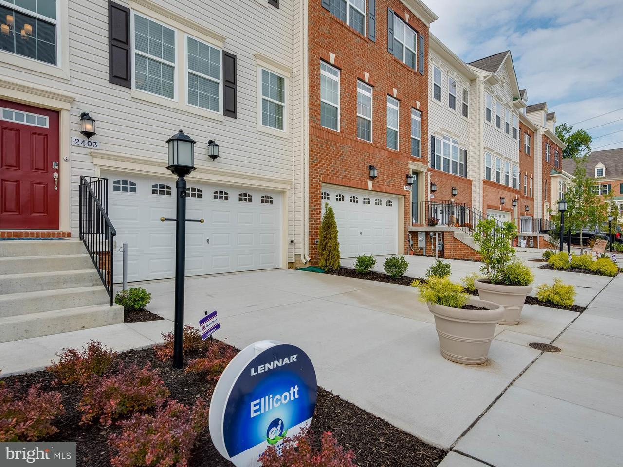Townhouse for Sale at 1071 RED CLOVER Road 1071 RED CLOVER Road Gambrills, Maryland 21054 United States