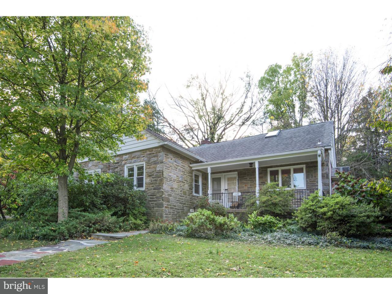 Single Family Home for Sale at 1420 MELROSE Avenue Cheltenham, Pennsylvania 19027 United States