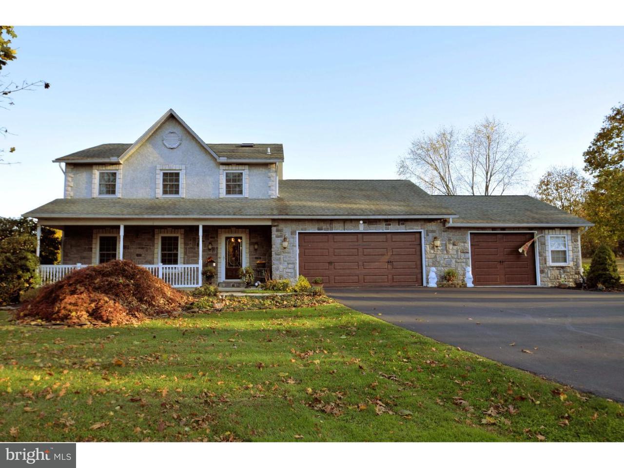 Частный односемейный дом для того Продажа на 1494 HOLLOW Road Worcester, Пенсильвания 19426 Соединенные Штаты