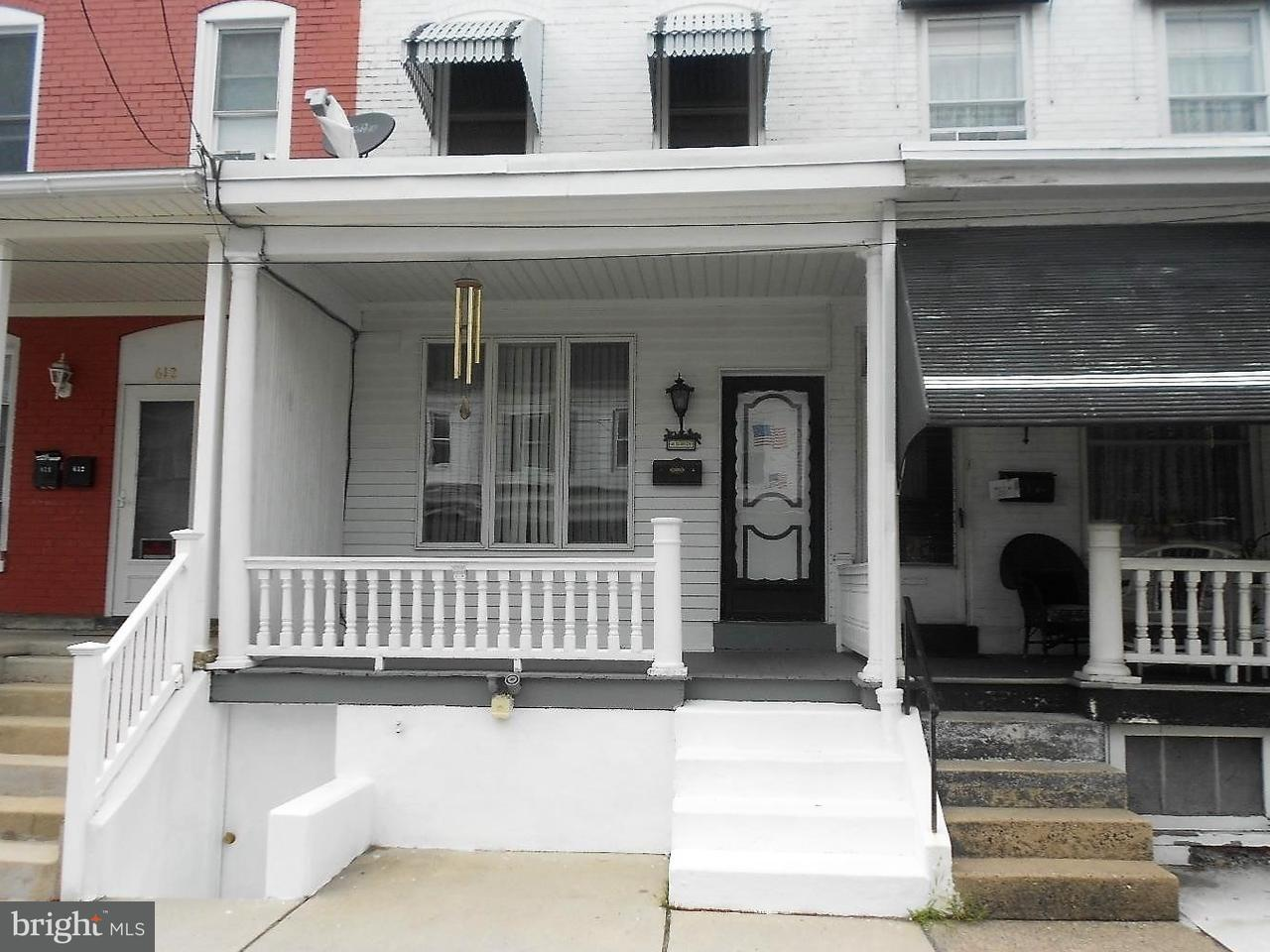 Townhouse for Rent at 610 FAIRVIEW Street Pottsville, Pennsylvania 17901 United States