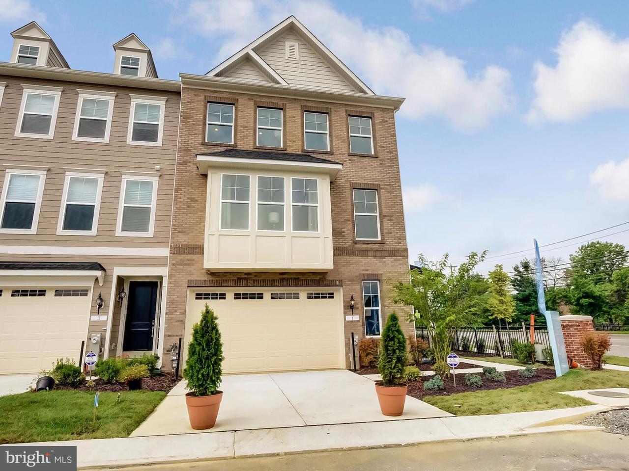 Casa unifamiliar adosada (Townhouse) por un Venta en 13 ENCLAVE Court 13 ENCLAVE Court Annapolis, Maryland 21403 Estados Unidos