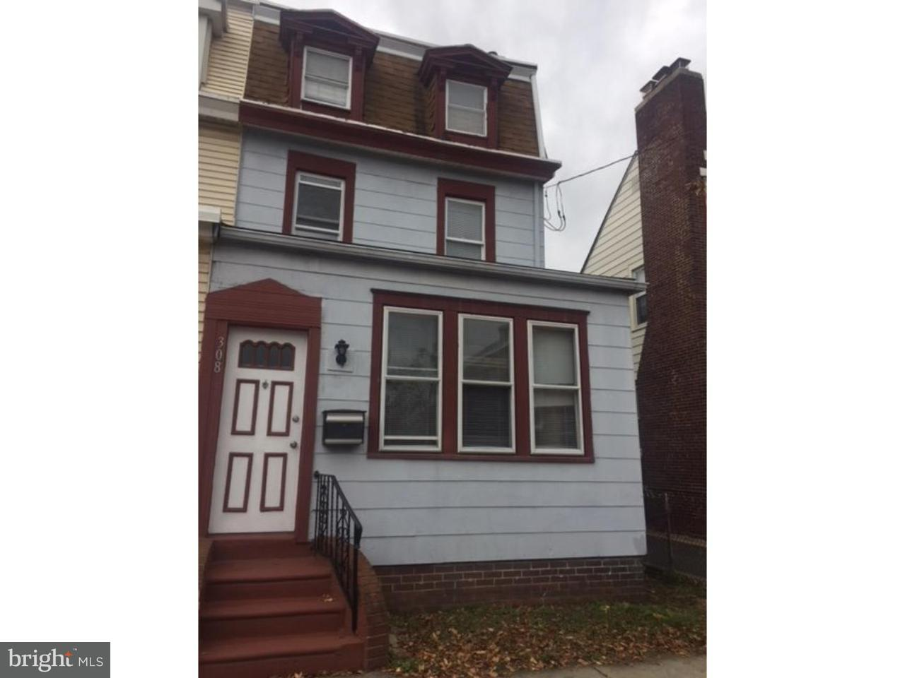 Townhouse for Rent at 308 MONMOUTH Street Gloucester City, New Jersey 08030 United States