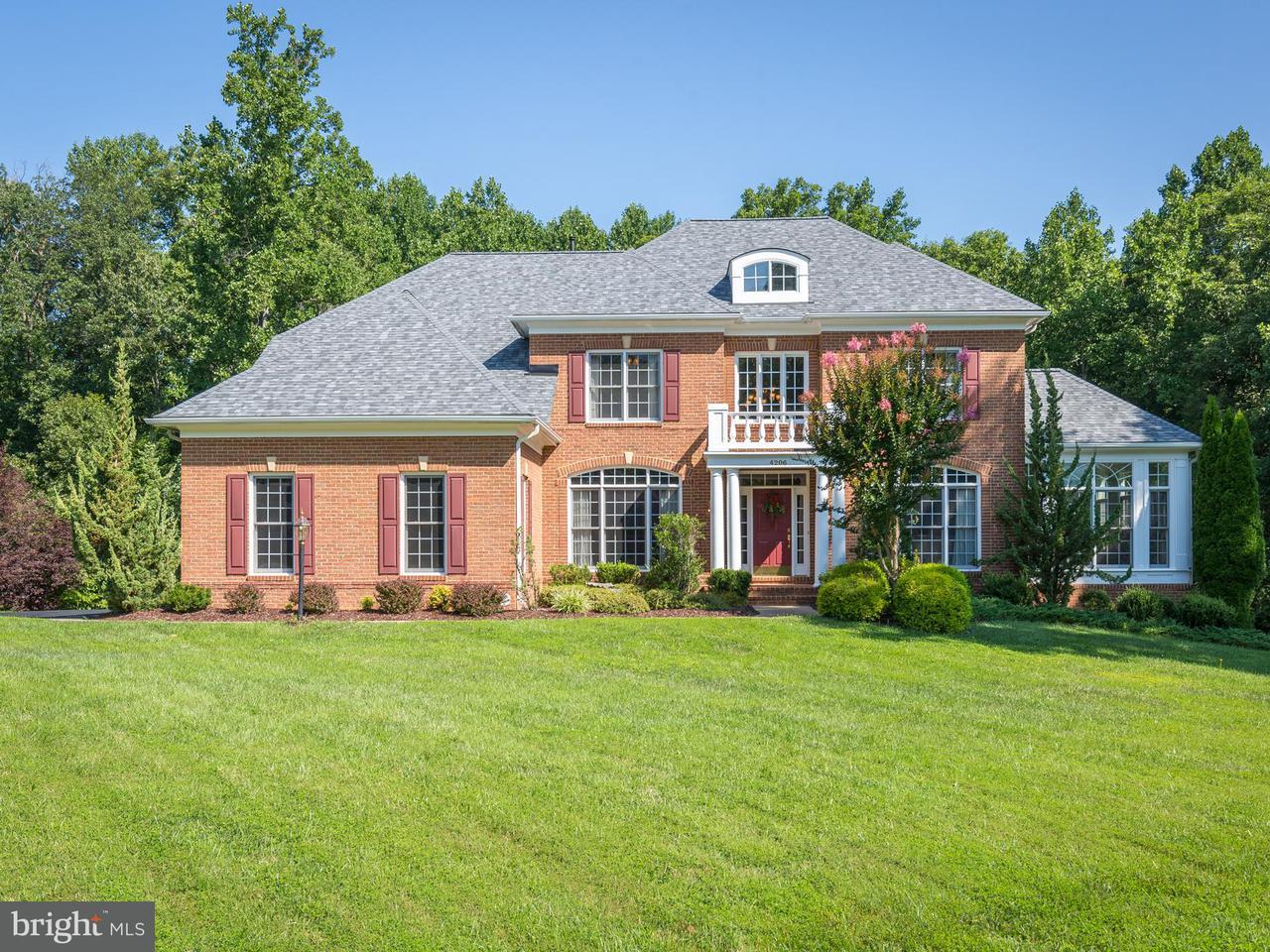 Single Family Home for Sale at 4206 ROEBURN Court 4206 ROEBURN Court Woodbridge, Virginia 22192 United States