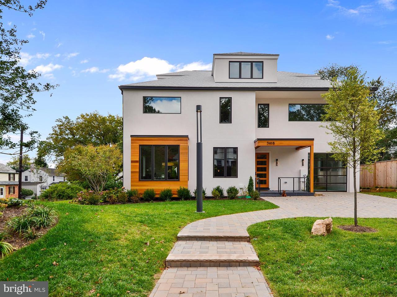 Single Family Home for Sale at 5418 YORK Lane 5418 YORK Lane Bethesda, Maryland 20814 United States