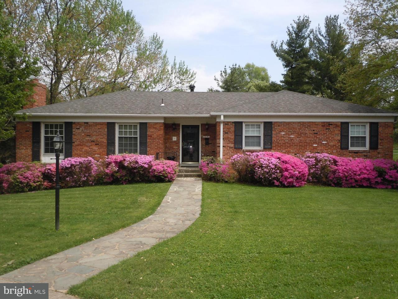 Vivienda unifamiliar por un Venta en 3546 ABINGDON Street 3546 ABINGDON Street Arlington, Virginia 22207 Estados Unidos