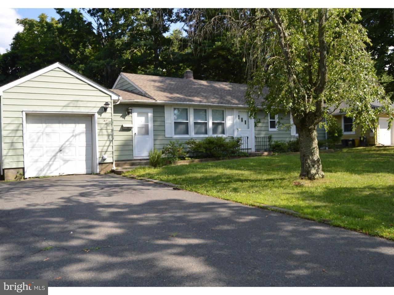 Частный односемейный дом для того Аренда на 47 WALLACE Road Princeton Junction, Нью-Джерси 08550 Соединенные ШтатыВ/Около: W Windsor Township
