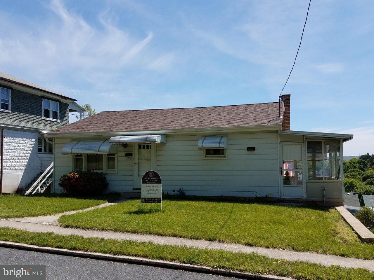 Casa Unifamiliar por un Venta en 139 CHESTNUT Street St. Clair, Pennsylvania 17970 Estados Unidos