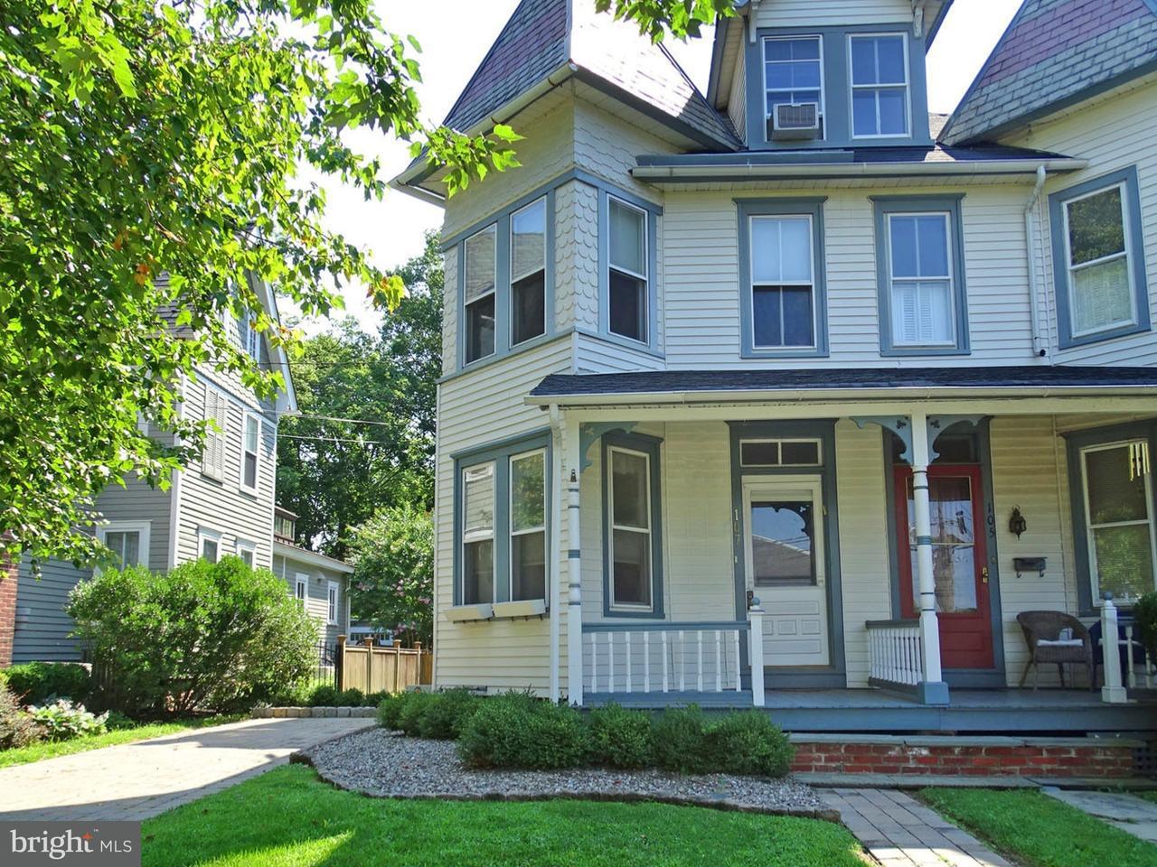 Maison accolée pour l à louer à 107 N CHANCELLOR Street Newtown, Pennsylvanie 18940 États-Unis