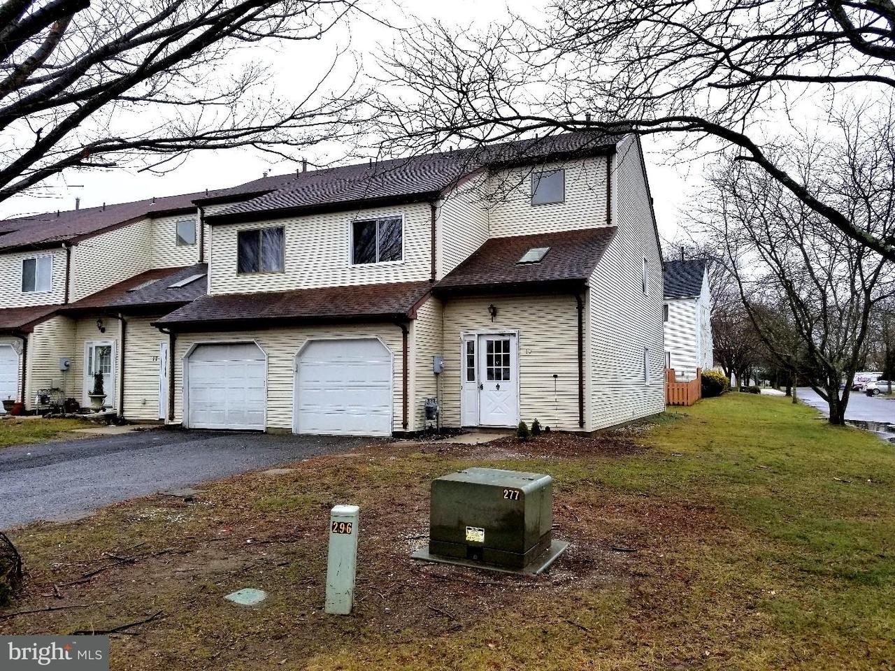 Таунхаус для того Аренда на 19 TARRAGON Drive Lumberton, Нью-Джерси 08048 Соединенные Штаты