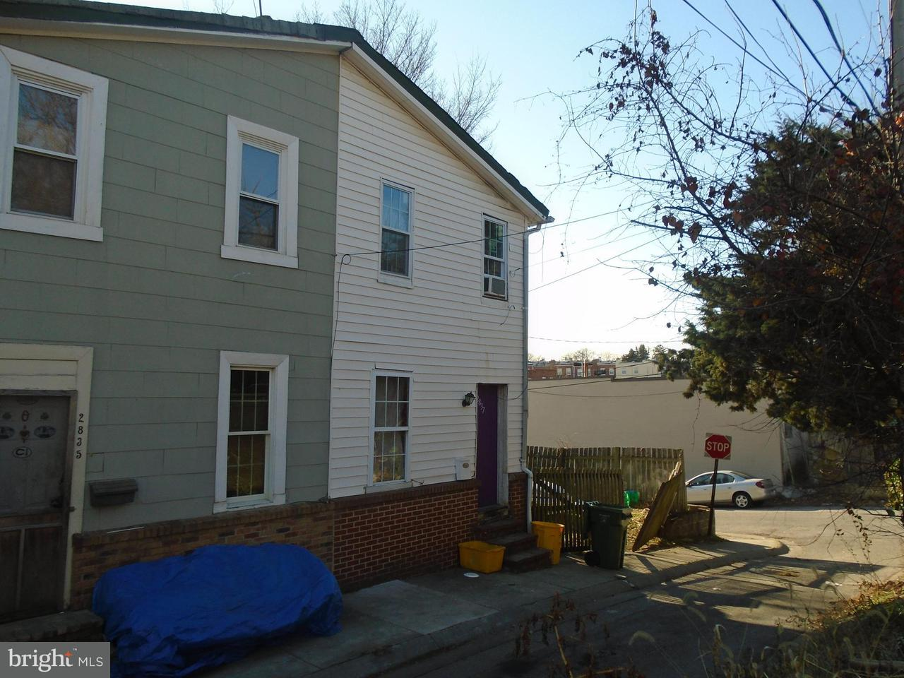 Single Family for Sale at 2837 Little Stafford St Baltimore, Maryland 21223 United States
