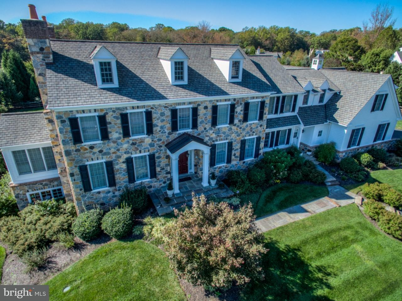 Частный односемейный дом для того Продажа на 104 PAIRED OAKS Lane Greenville, Делавэр 19807 Соединенные Штаты