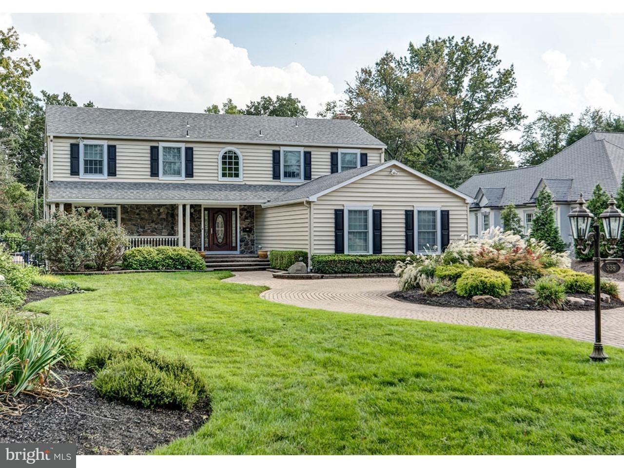 Частный односемейный дом для того Продажа на 338 KINGS HWY W Haddonfield, Нью-Джерси 08033 Соединенные Штаты