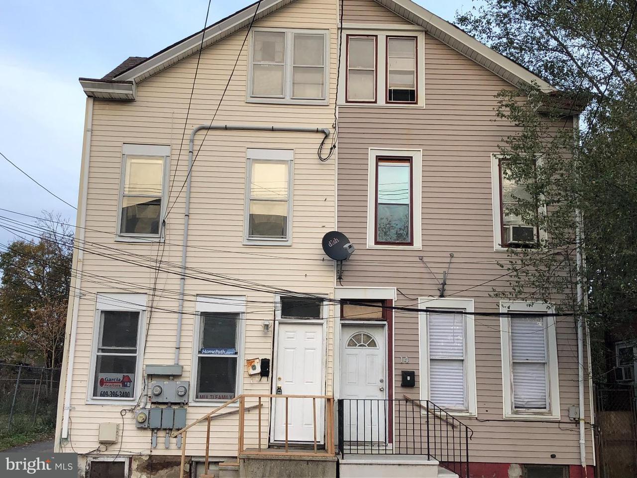 Duplex pour l à louer à 16 N OLDEN Avenue Trenton, New Jersey 08609 États-UnisDans/Autour: Trenton City