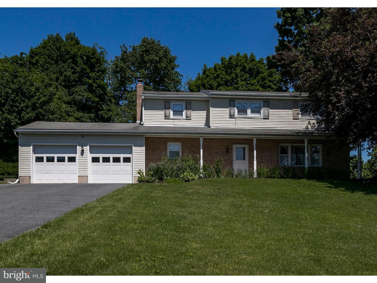 Частный односемейный дом для того Продажа на 40 CLAY SLATE Road Oley, Пенсильвания 19547 Соединенные Штаты