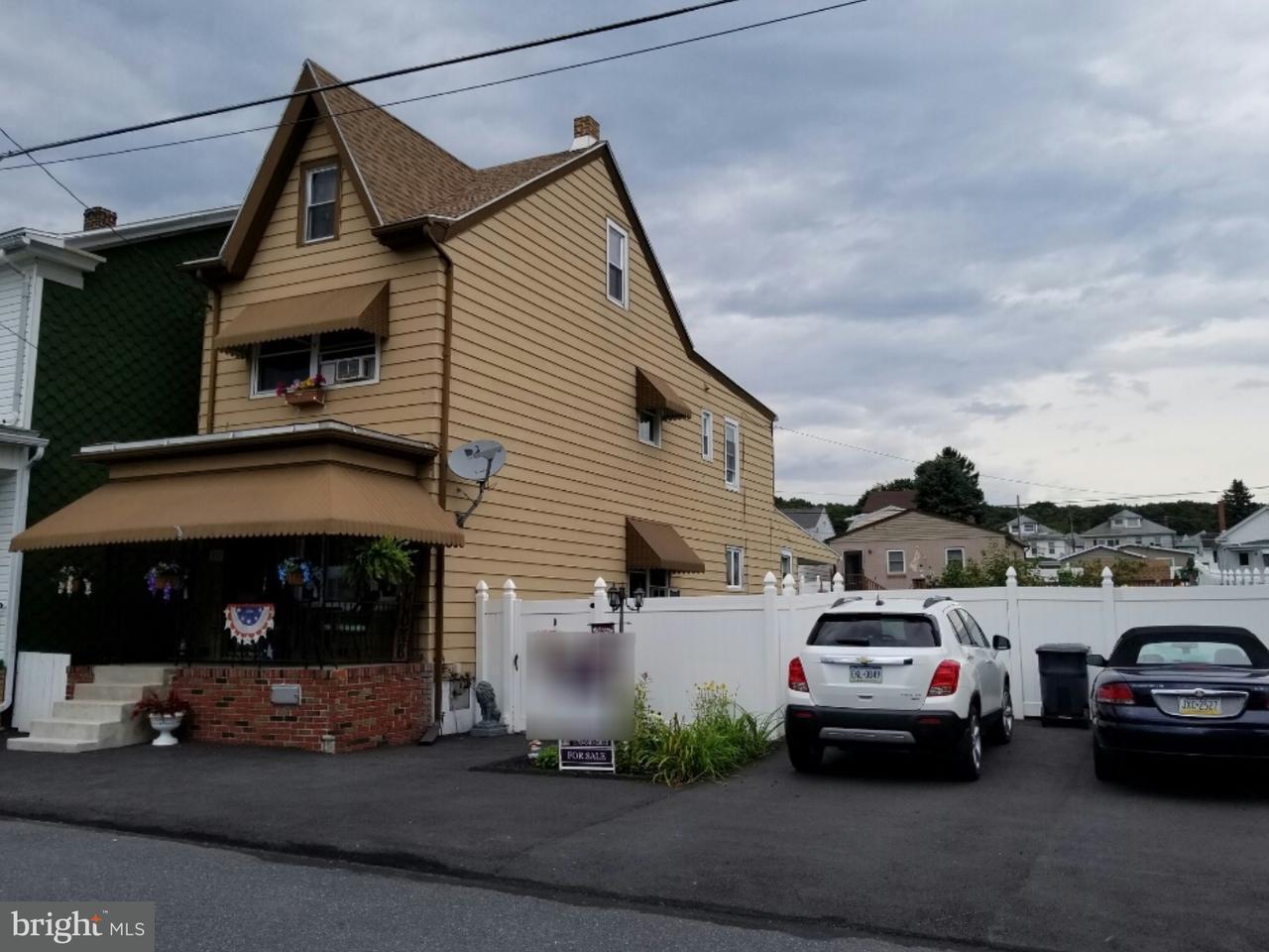 Maison unifamiliale pour l Vente à 137 S LINE Street Frackville, Pennsylvanie 17931 États-Unis