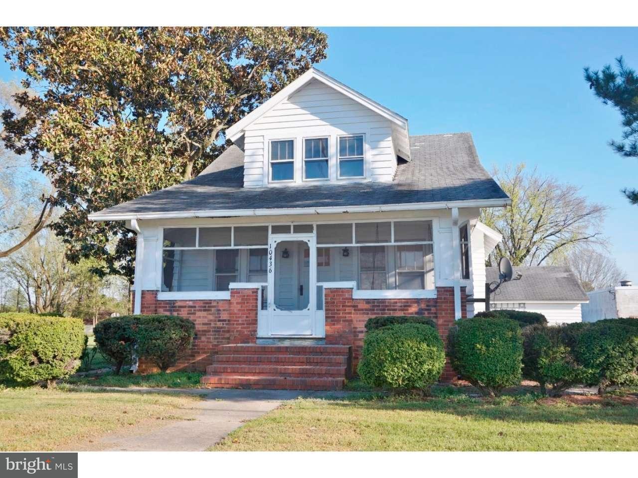 Eensgezinswoning voor Verkoop een t 10436 GEORGETOWN Road Laurel, Delaware 19956 Verenigde Staten
