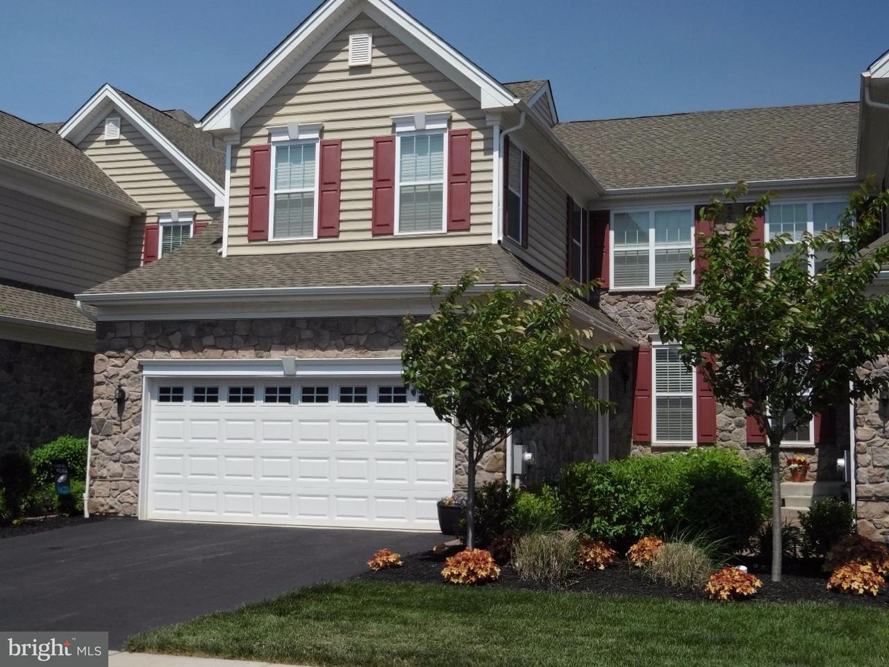 Casa unifamiliar adosada (Townhouse) por un Alquiler en 222 HOPEWELL Drive Collegeville, Pennsylvania 19426 Estados Unidos