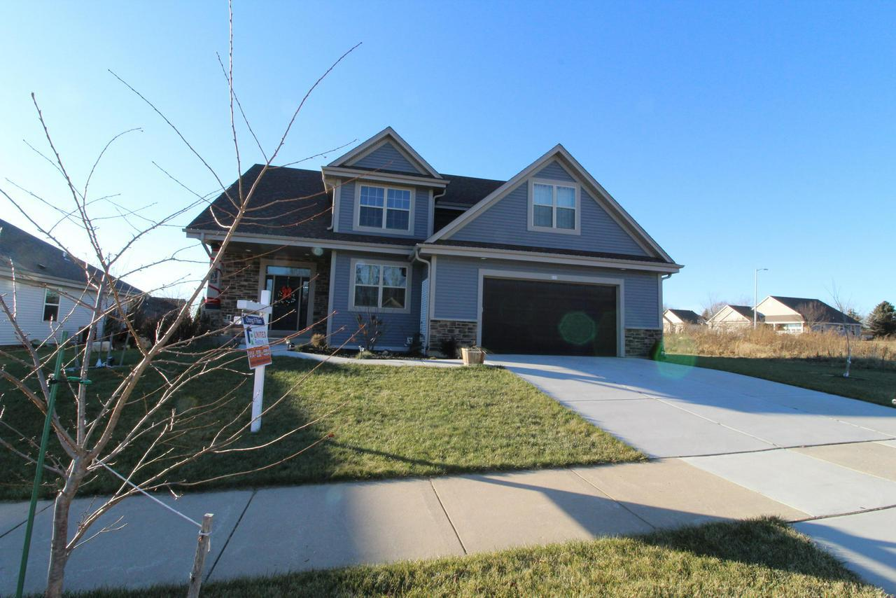 <font color='#C11B17'>!<font color='#0000A0'> This stunning 2 story offers 4BR/2.5BA/2+++GA/Master Suite w/walk-in closet & private bathroom w/custom walk-in tiled shower. Fireplace in Living room, solid doors w/extra wide trim, granite counters and spacious kitchen & dinette. Lower level offers an egress window well and is plumbed for a full bath. **Ceramic tiles in bathrooms/laminate wood floors in Kitchen & Dinette**  Dont miss it!