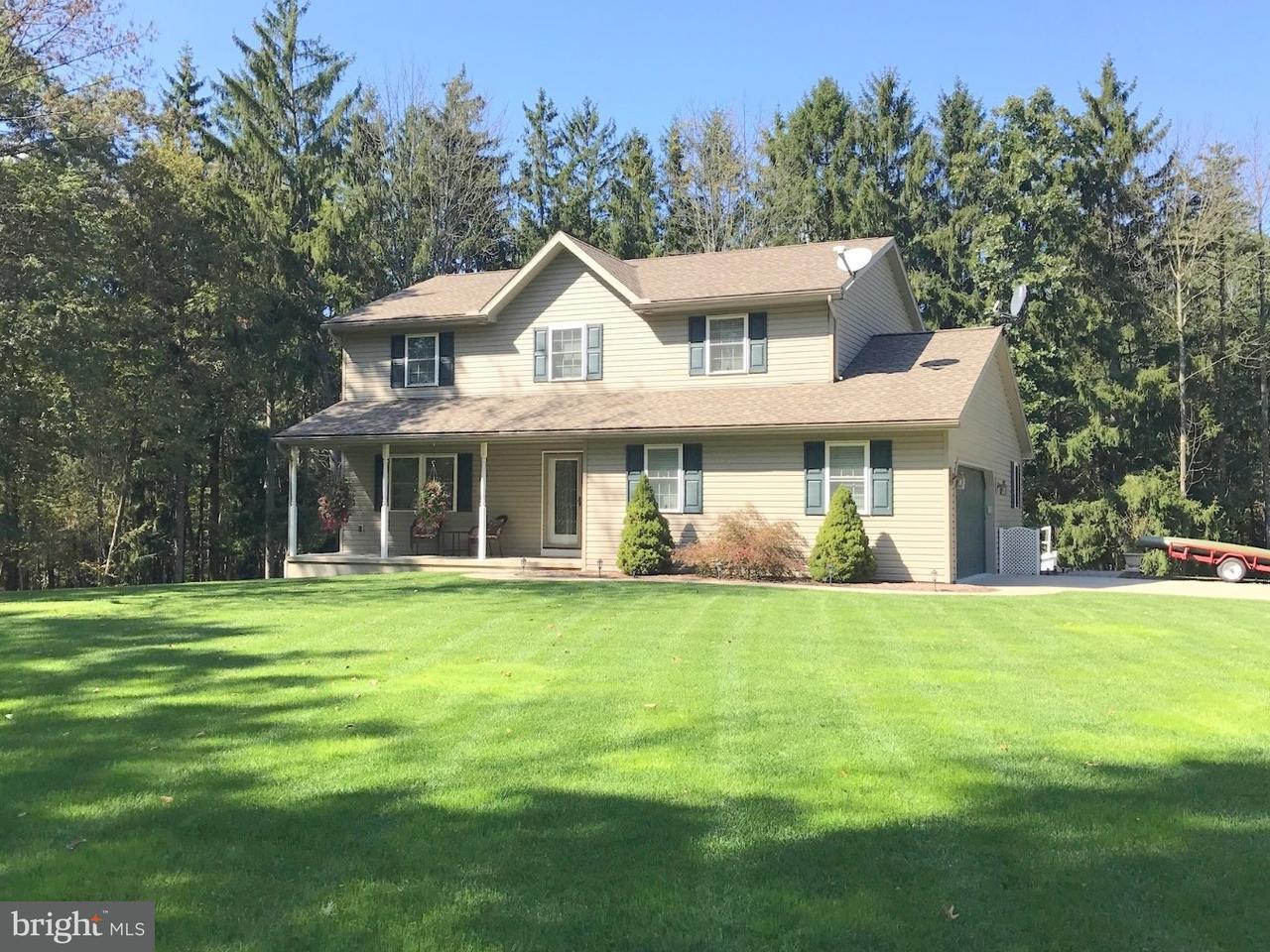 Casa Unifamiliar por un Venta en 107 FORK MOUNTAIN Road Auburn, Pennsylvania 17922 Estados Unidos