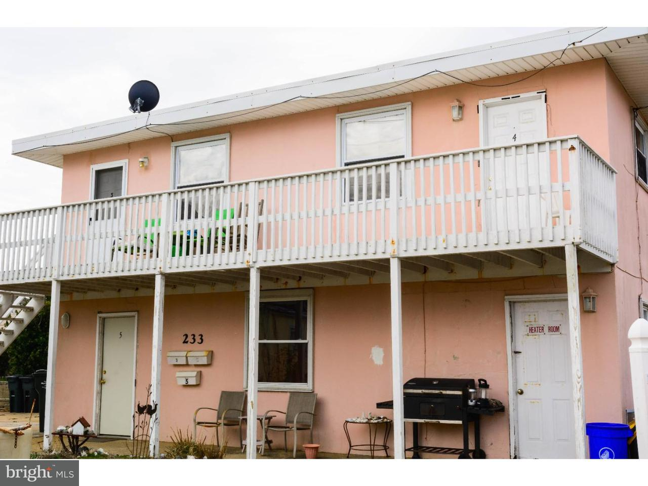 Triplex for Sale at 233 QUAY BLVD Brigantine, New Jersey 08203 United States
