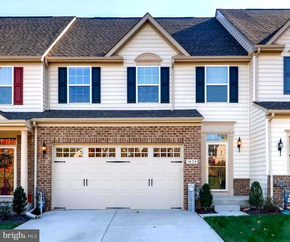 Townhouse for Sale at 1839 EXTON Drive 1839 EXTON Drive Fallston, Maryland 21047 United States
