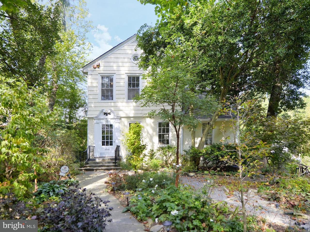Single Family Home for Sale at 4709 Dorset Avenue 4709 Dorset Avenue Chevy Chase, Maryland 20815 United States