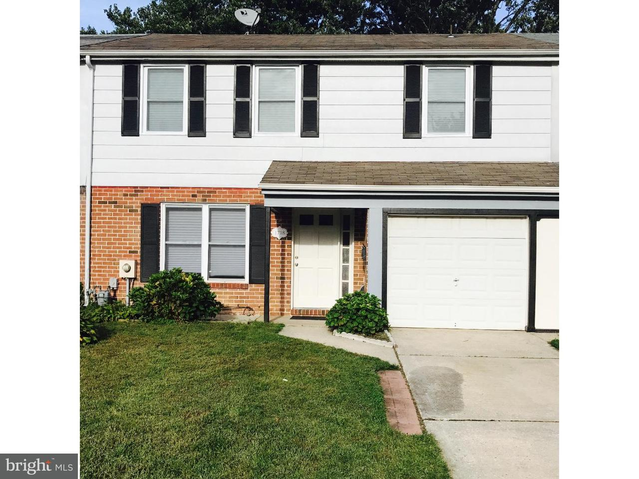 Townhouse for Rent at 1718 HEATHER Place Clementon, New Jersey 08021 United States